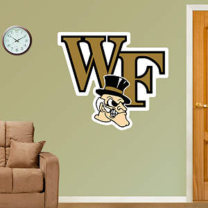 Wake Forest Logo Fathead Wall Decal